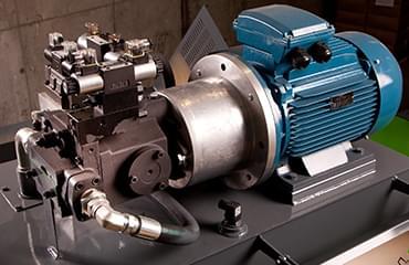 H50 horizontal baler 15 kw motor