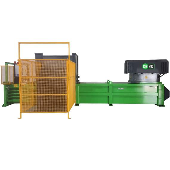 H80 baler machine