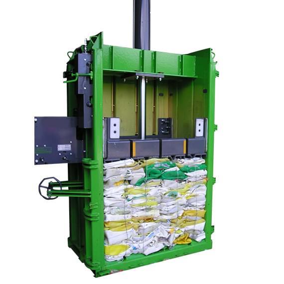 Agri waste baler VF50 baling farm plastics